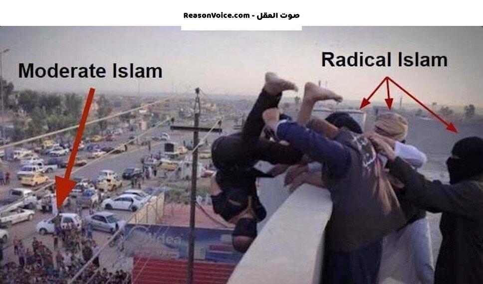 المسلم المتطرف والمسلم الوسطي