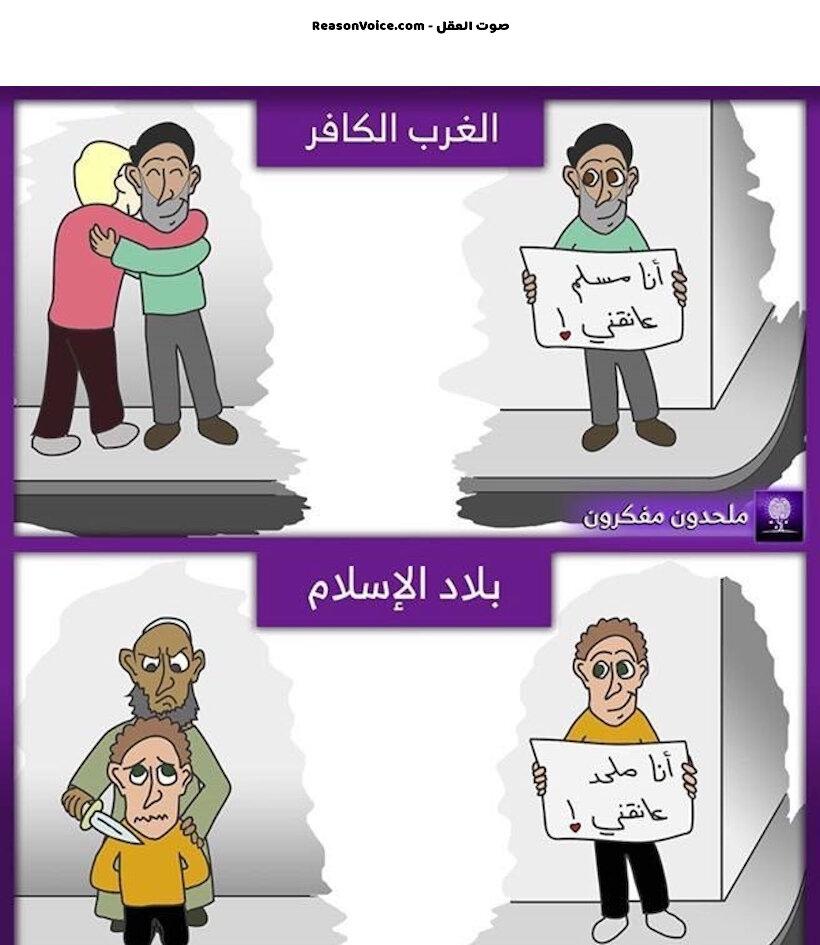 الحرية المفقودة في العالم الإسلامي