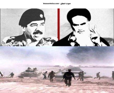 مجنونا الحروب صدام و خميني