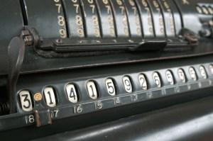 جهاز كومبيوتر قديم