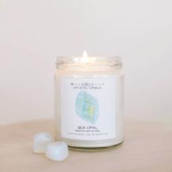 Shop ReAwaken | Sea Opal Crystal Candle - Meditation | JaxKelly