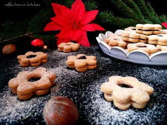 Bezlepkové pohankové linecké kytičky s marmeládou | reBarbora's kitchen