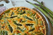 Chřestový quiche (slaný koláč) | reBarbora's kitchen