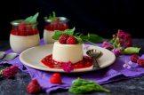 Limetková panna cotta s malinovou omáčkou   reBarbora's kitchen