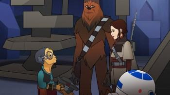 ForcesOfDestiny Leia&Maz