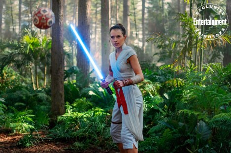 STAR WARS: THE RISE OF SKYWALKER Daisy Ridley as Rey
