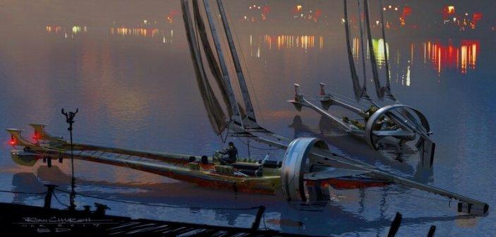 Razer Sails zadokowane na Bonadan