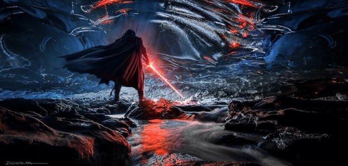 """Kylo w jaskini na Remnicore, jak określił ją Tor Valum, jest to """"konwergencja Mocy"""""""