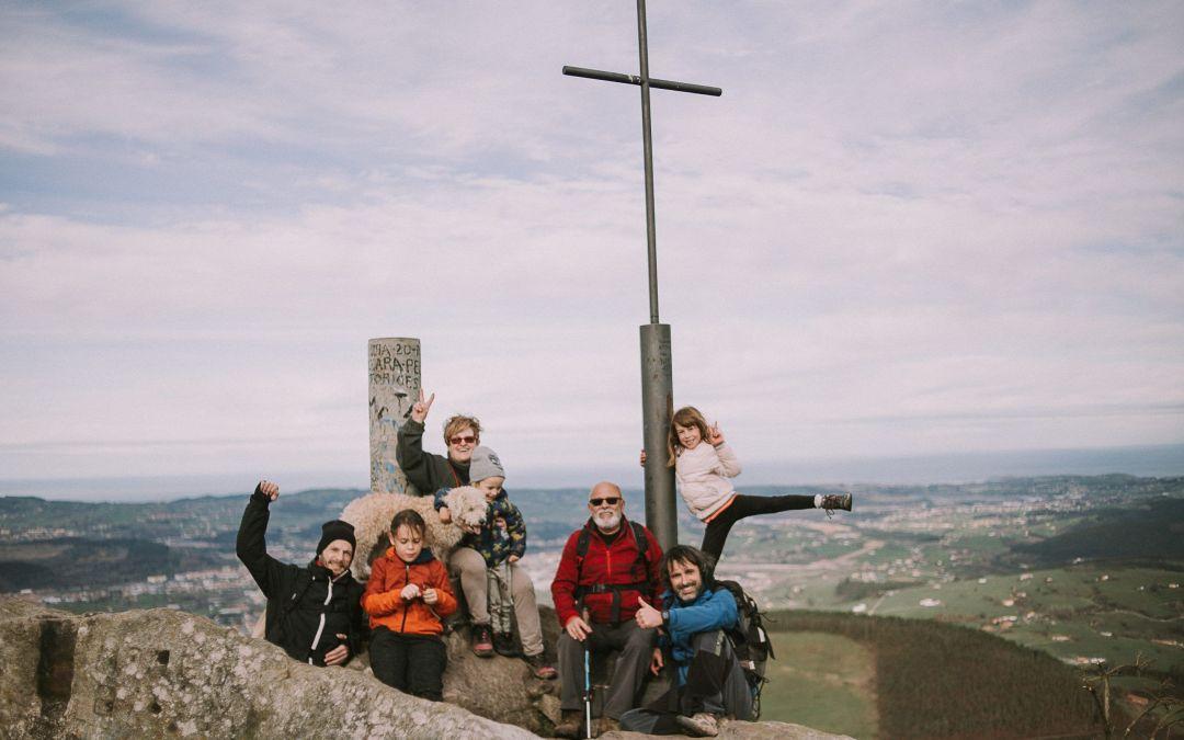 Cantabria con niños | Ruta corta del Pico Dobra