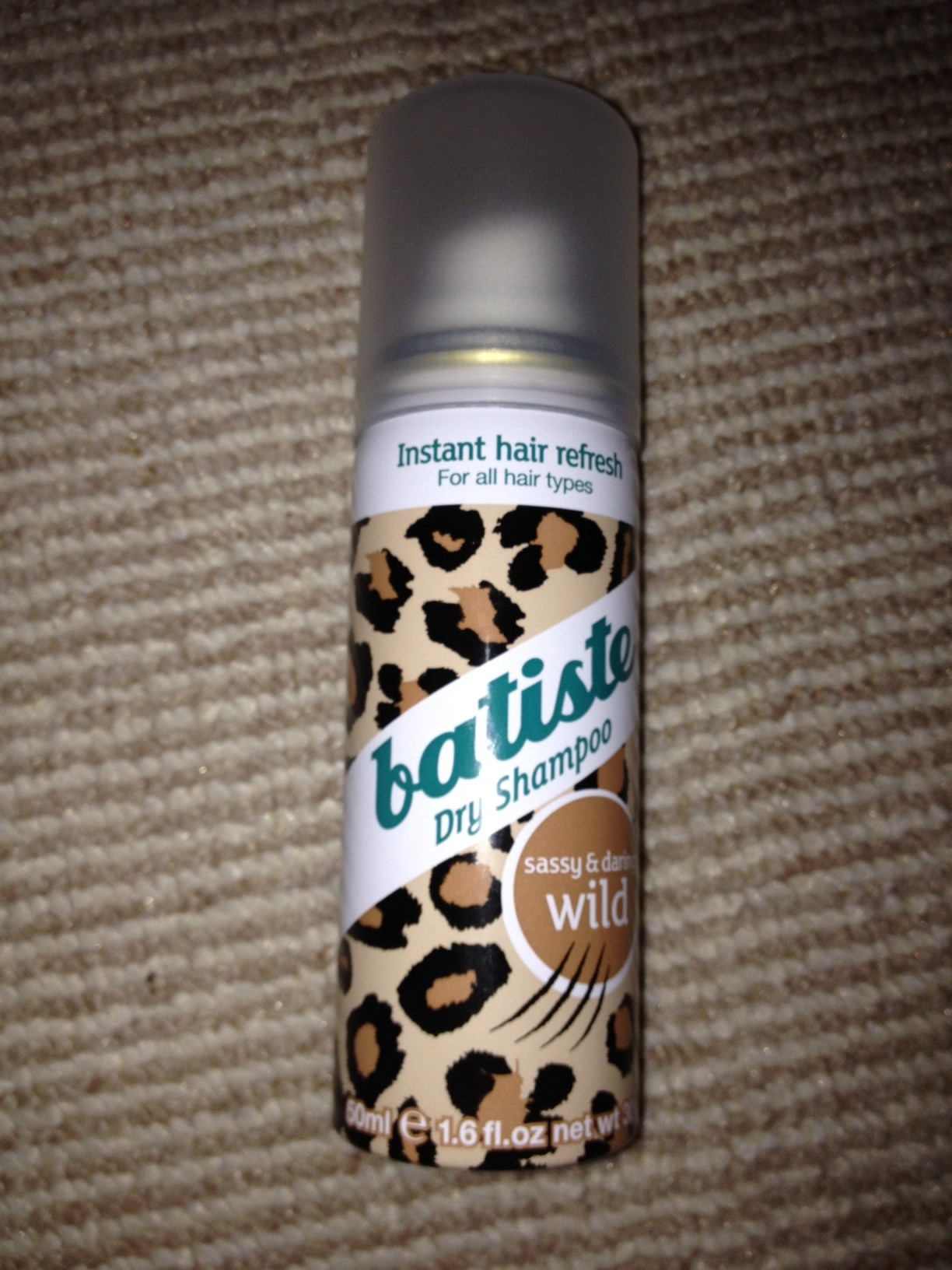And The Award For Saving My Hair Goes To Rebecca Barnes Batiste Dry Shampoo Wild