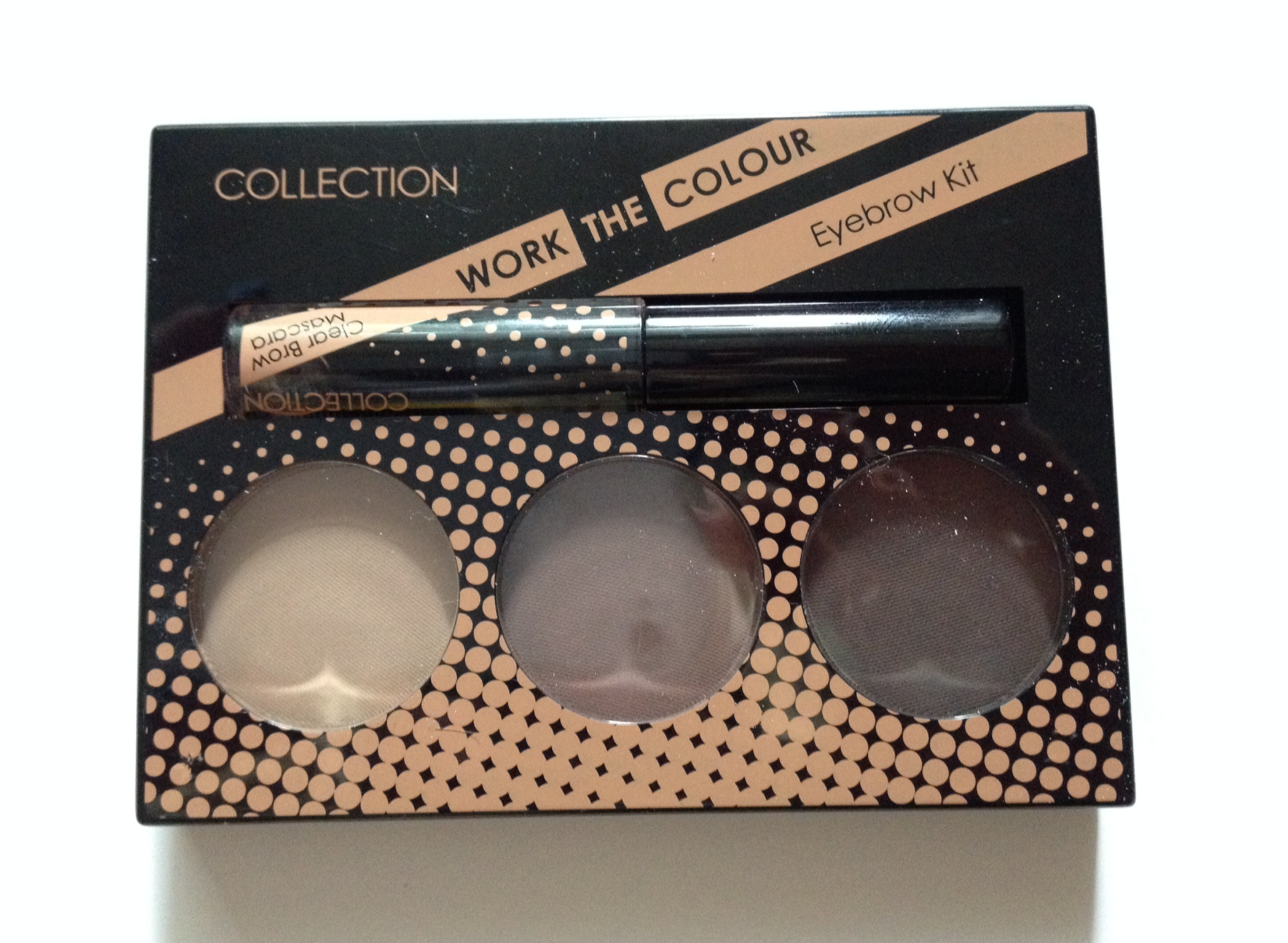Collection Work The Colour Eyebrow Kit Rebecca Barnes