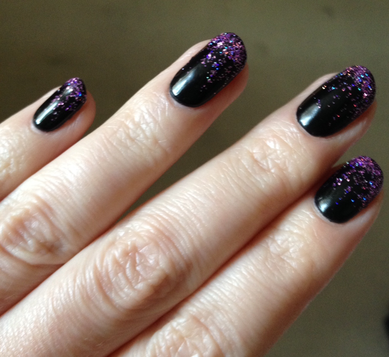 Halloween gel nails - Rebecca Barnes