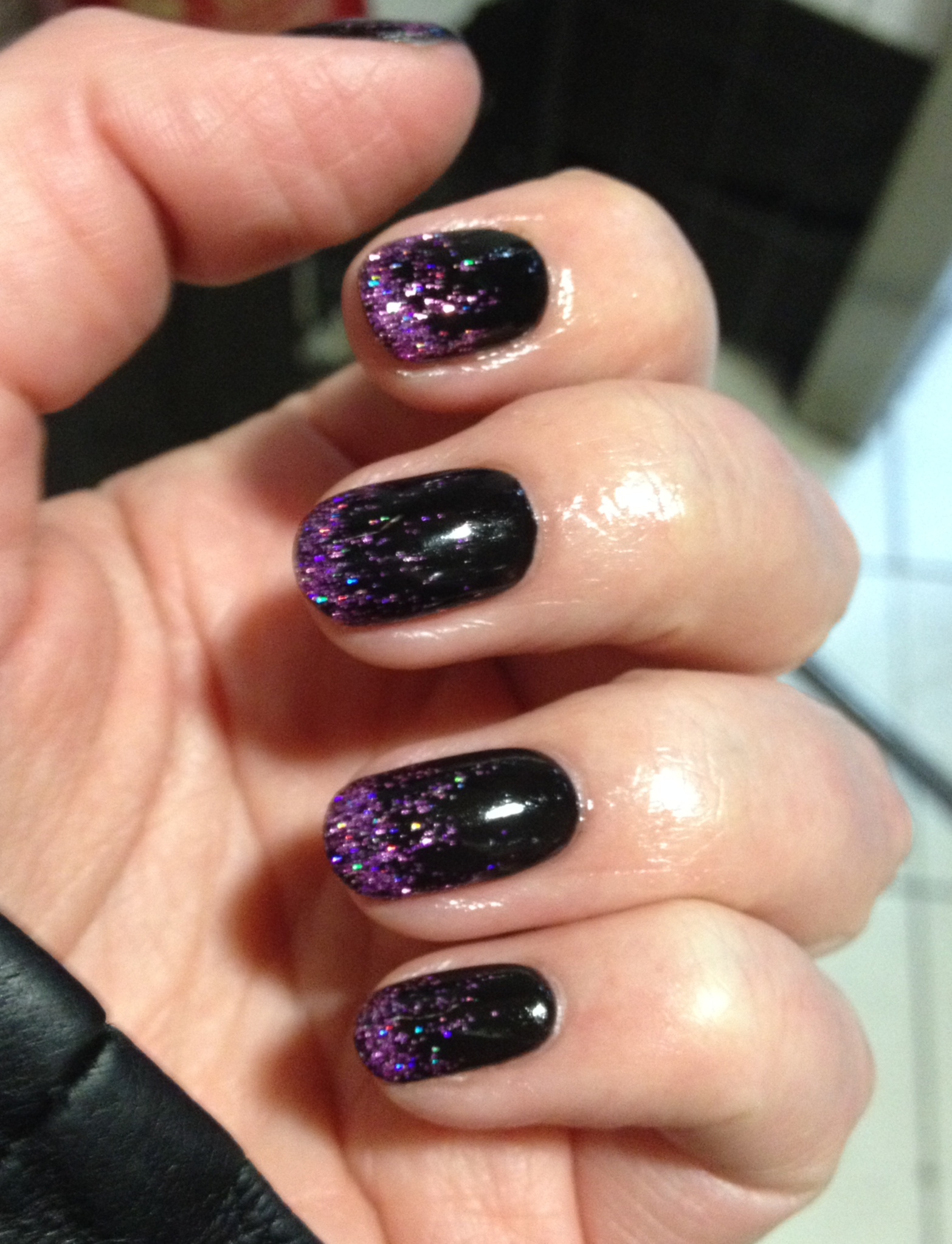 Halloween gel nails - Rebecca Barnes