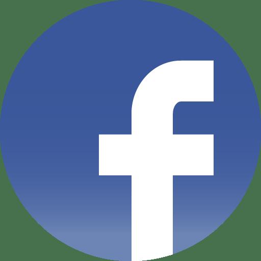 Facebook icon round