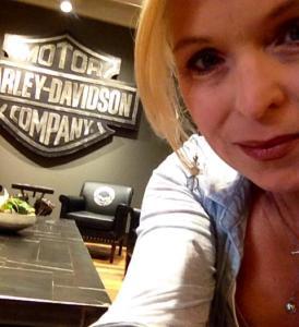 Rebecca L. Cooney at Harley Davidson