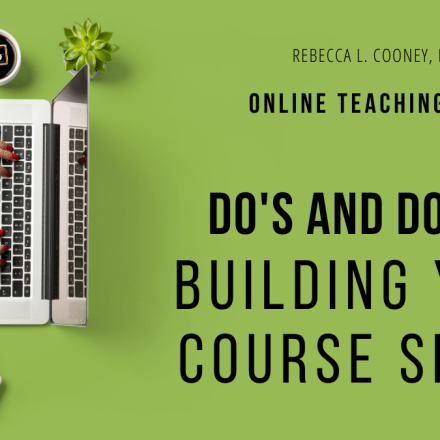 Online Teaching Series - Course Space