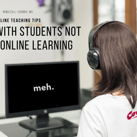 Online Teaching Tips - Meh Student