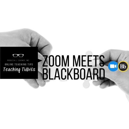 Zoom meets Blackboard