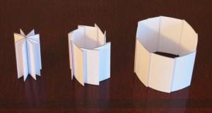 Accordion folded tubes