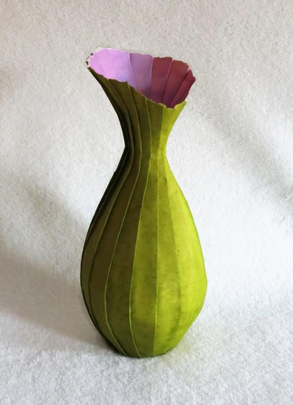 Torn vase