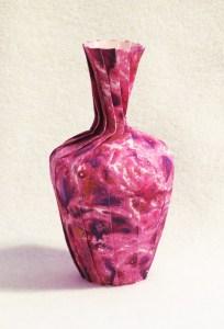 Marbled vase