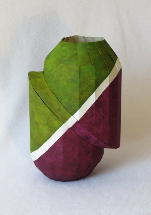 Zig-zag vase