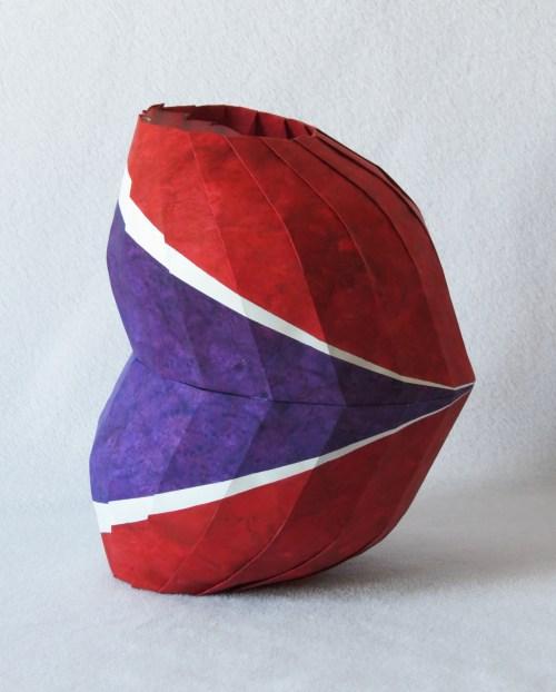 Tilted bent vase
