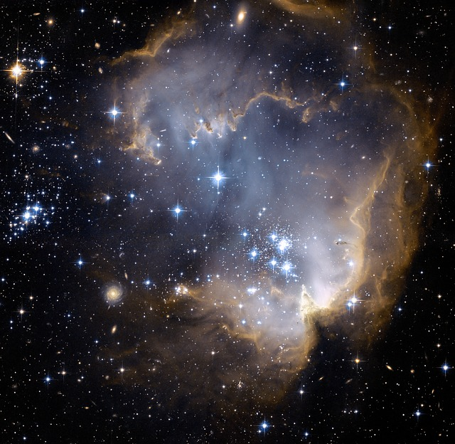 space, star cluster