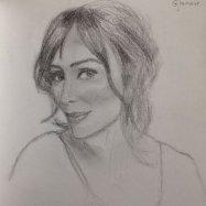 Keeley Hawes by Rebecca Anne Jones