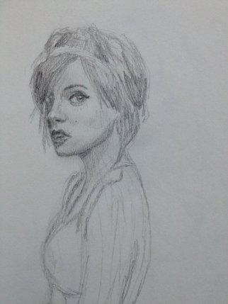 Lily Allen by Rebecca Anne Jones