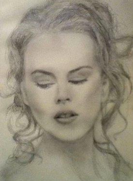 Nicole Kidman by Rebecca Anne Jones