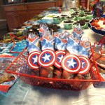 Captain America Napkins