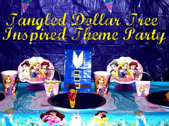 Princess Dollar Tree Decorations