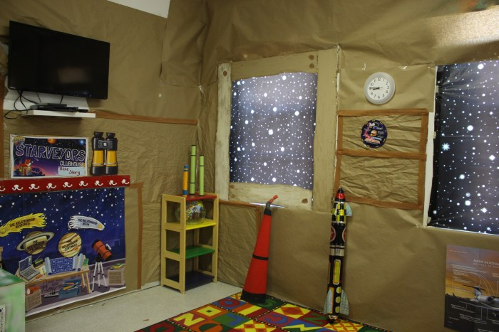 Galactic Starveyors Clubhouse Decorations