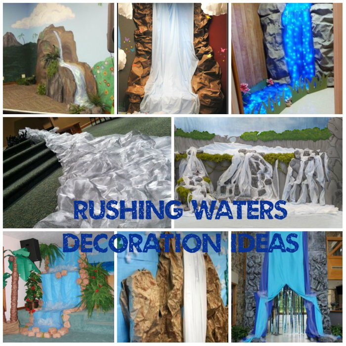 Rushing Waters Decoration Ideas