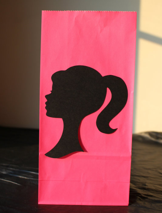 Barbie Favor Bag