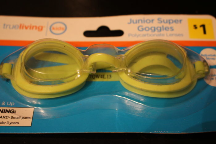 Submerged Goggles