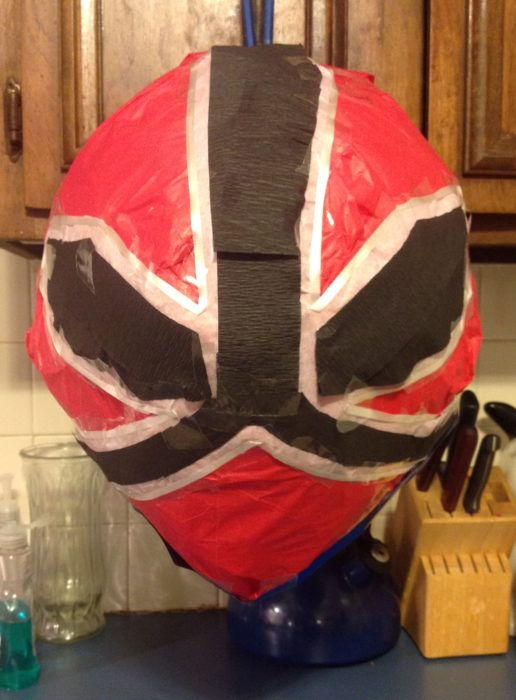Power Rangers Samurai Pinata Red
