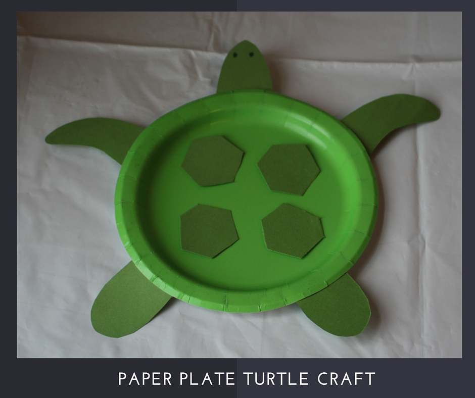 Paper plate Turtle craft VBS 2016 Submerged