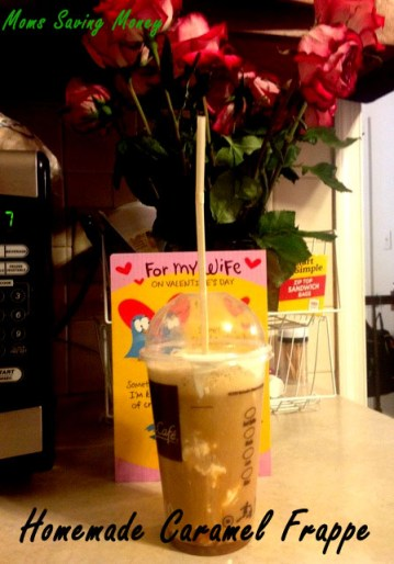 Homemade Caramel frappe recipe McDonald style 3 copy