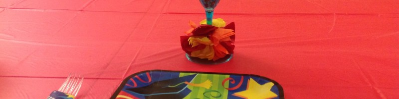 Dollar Tree Graduation Table Decoration