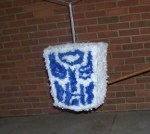 how to make a transformers Pinata