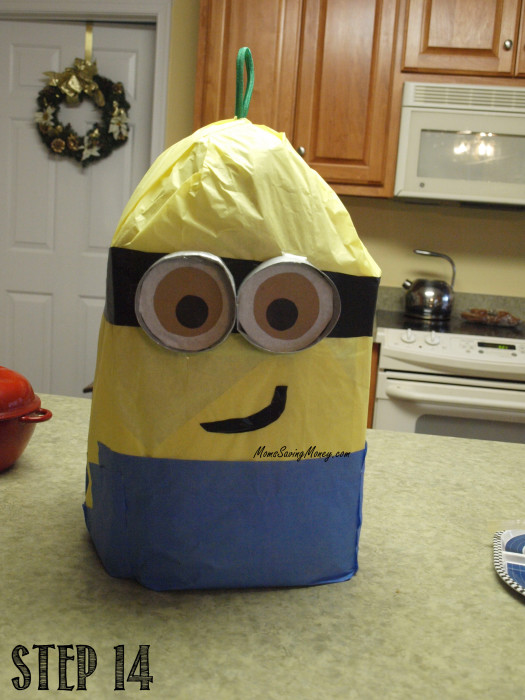 step 14 minion pinata