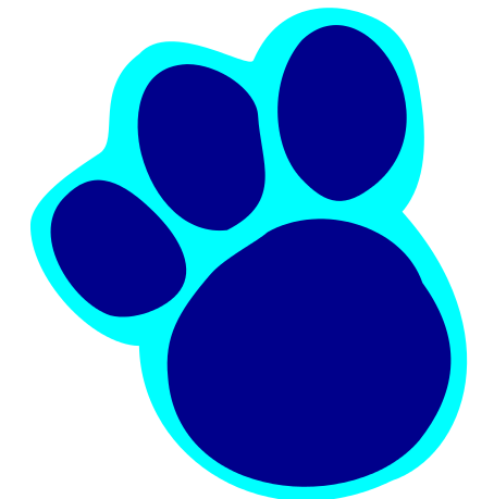 Blue's Clues Paw Prints Tutorial Rebecca Autry Creations