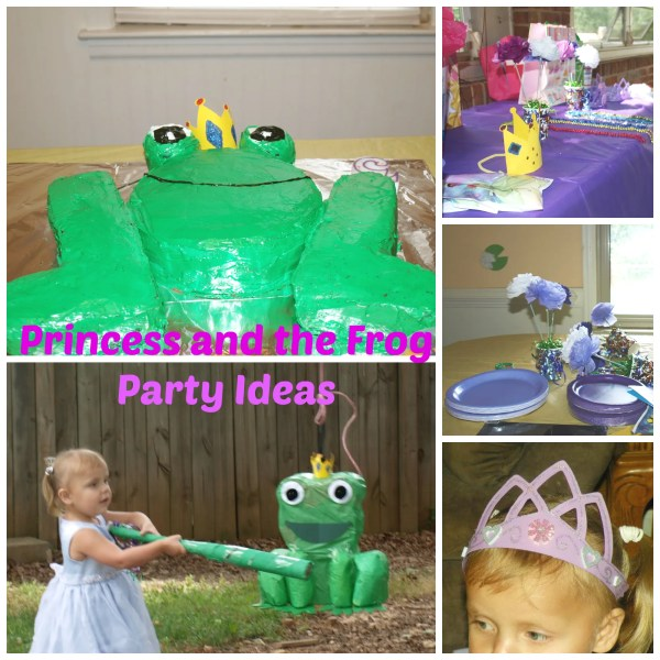 Princess and the Frog party Ideas