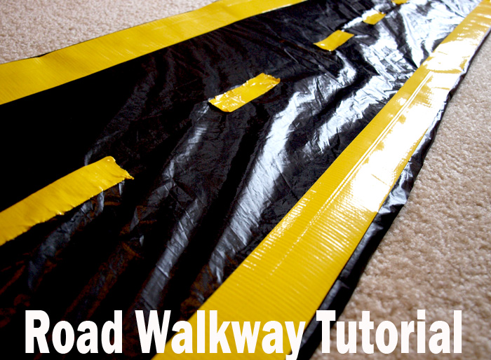 disney cars Road walkway tutorial