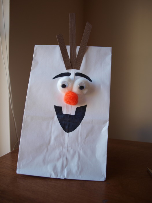 Olaf favor bag