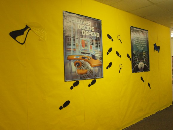 Agency D3 Promotional wall