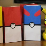 Pokemon Favor Bags