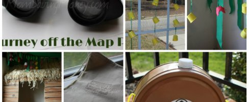 """Lifeway VBS 2015 """"Journey off the Map"""" Decoration Ideas"""